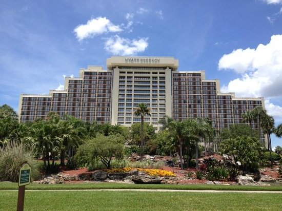 Hyatt Regency Grand Cypress: vista do hotel