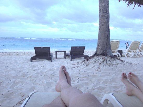 Majestic Elegance Punta Cana: Praia privativa