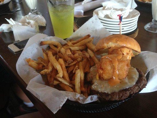 Milwaukee Burger Company - Wausau: Cheese Curd Burger