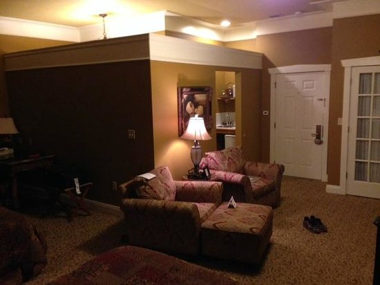 The Inn at Leola Village: Our double queen room