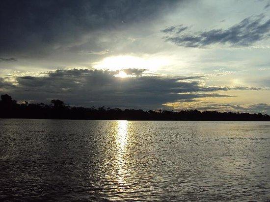 Reserva Natural Palmari : anochecer