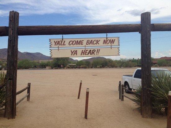 Pinnacle Peak Patio Steakhouse: Your Goodbye