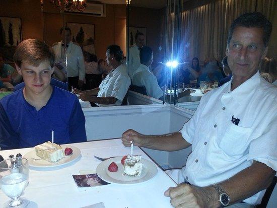 Patsy's Italian Restaurant : The Birthday Boys!