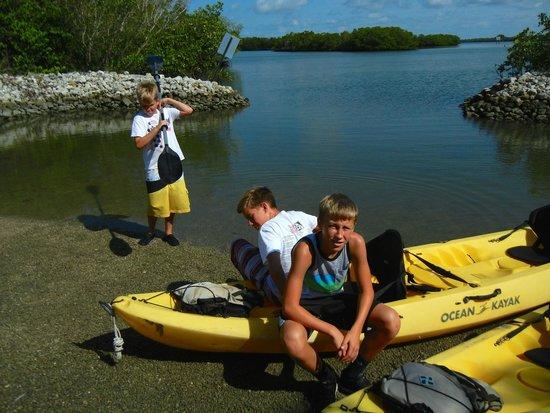 Kayak Marco : Beautiful Bay And Mangrove Island Up Ahead