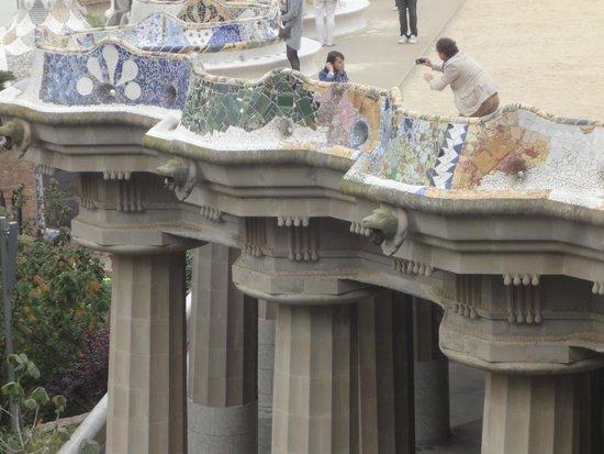 Parc Güell : Obra de arte