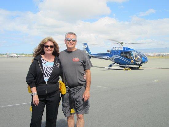 Blue Hawaiian Helicopters - Oahu: Heading to the Helo