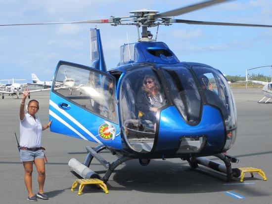 Blue Hawaiian Helicopters - Oahu: Boarding the Helo