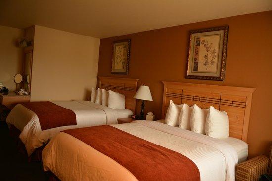 Best Western Plus Hartford Lodge: Nice Beds