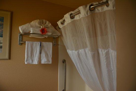 Best Western Plus Hartford Lodge: Towel decoration