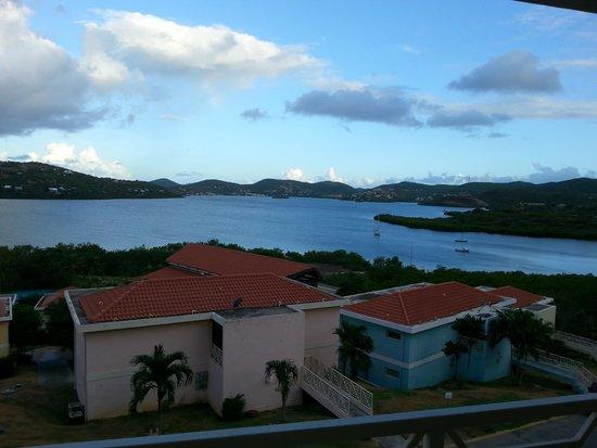 Sea Breeze Hotel: Desayunando en esta vista espectacular