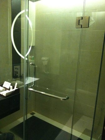 Swiss-Belhotel Harbour Bay: bathroom with shower