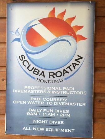 Scuba Roatan: Best Dive shop on the island!!