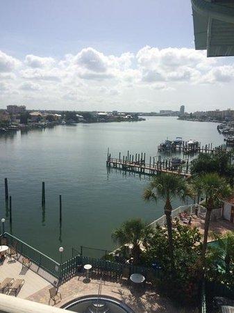 Clearwater Beach Hotel : vista do corredor