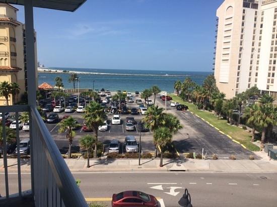 Clearwater Beach Hotel : vista da praia