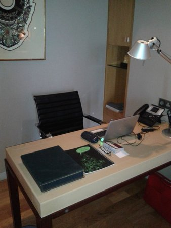 Maduzi Hotel: Execituve-sized desk in the room