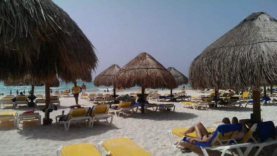 IBEROSTAR Paraiso Del Mar: Beautiful beach!
