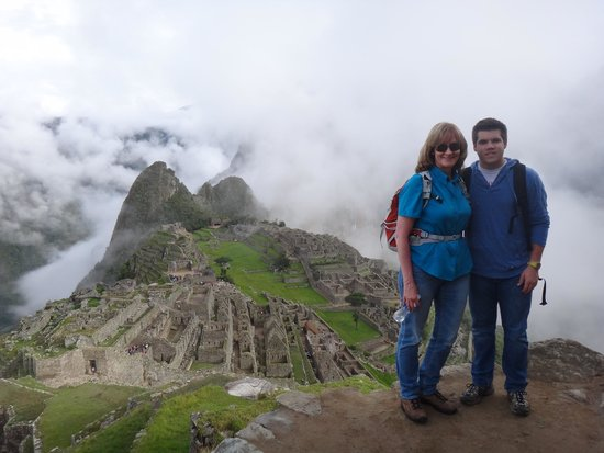 Inkatraces Day Tours : My second tour with Rudy - with my nephew! Magical!