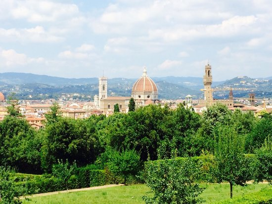 Palais Pitti : Florence view. Picnic perfect!