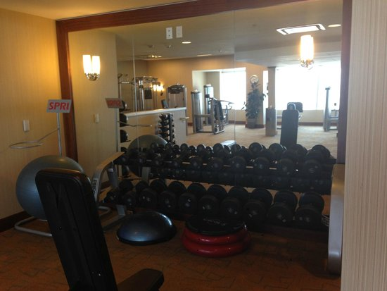 The Ritz-Carlton, Los Angeles: Gym
