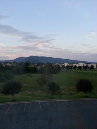 Ramada by Wyndham Strasburg: View from room after storm