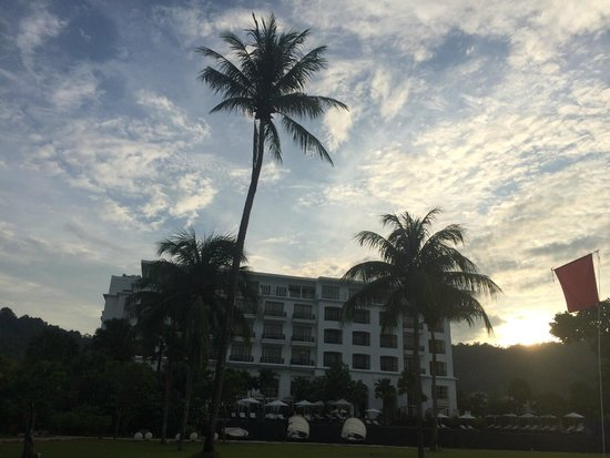 The Danna Langkawi, Malaysia : Hotel Exterior from the Beach