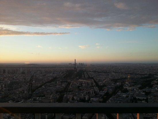 Observatoire Panoramique de la Tour Montparnasse : Paris vista da torre de montparnasse