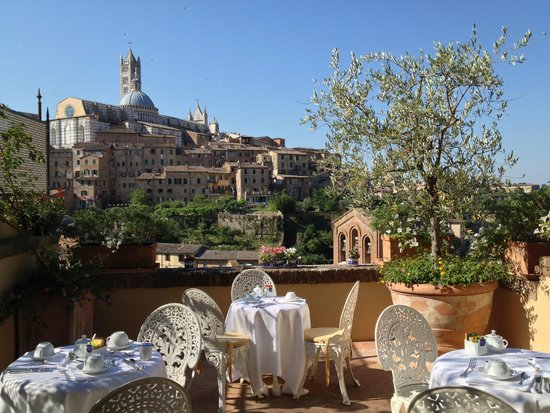 Campo Regio Relais: View from the terrace