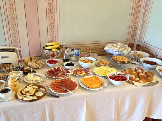 Campo Regio Relais: Breakfast