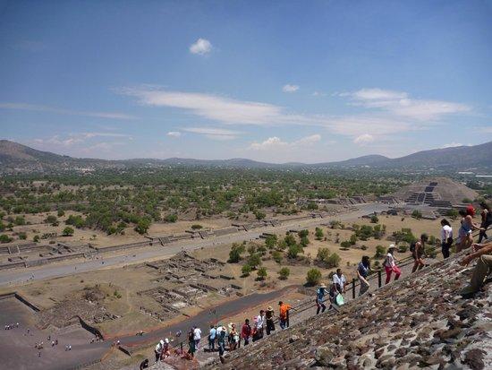 Teotihuacan : 太陽のピラミッド