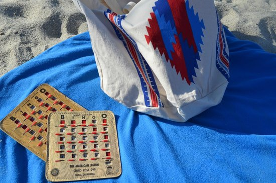 The Edgewater: Beach Blanket Bingo, for reals!