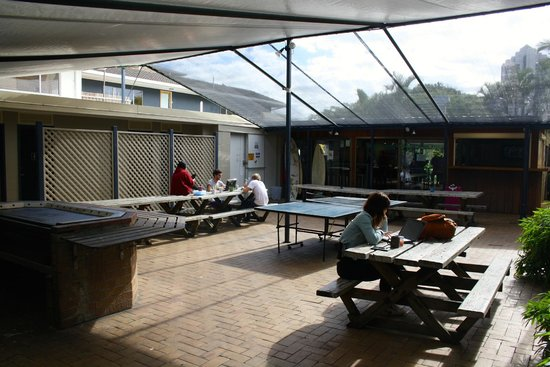 Budds in Surfers: bbq area/courtyard