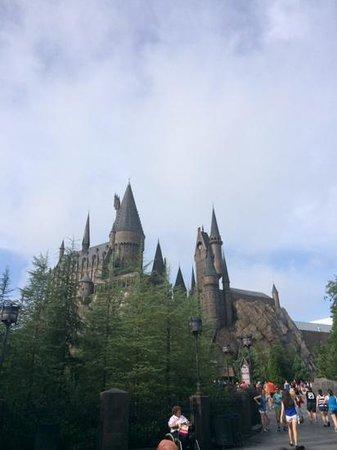 Loews Royal Pacific Resort at Universal Orlando: hogwarts castle..
