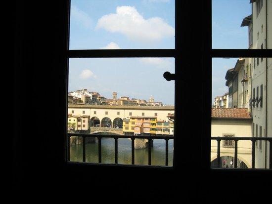 Galería de los Uffizi: View from Corridors