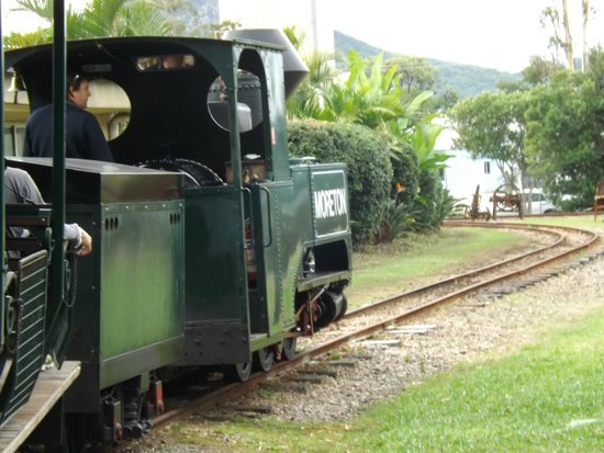 The Ginger Factory: Train tour around property