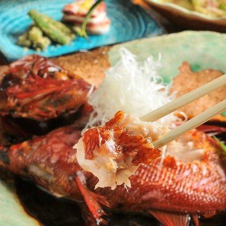 Cocorone: こころね名物金目鯛の煮付け(2名様に特大を1尾提供)