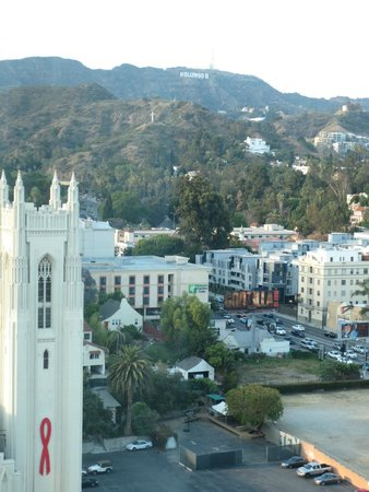 Loews Hollywood Hotel : View from our room