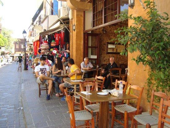 Rethymnon Old Town: Nice restaurants
