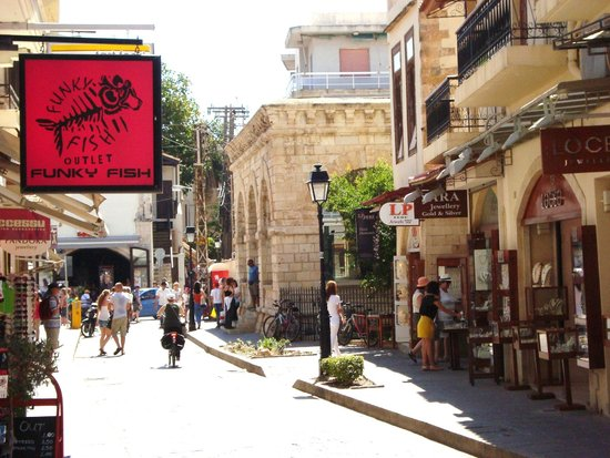 Rethymnon Old Town: Fine streets