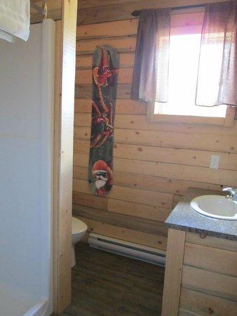 Glacier View RV Park : Bathroom