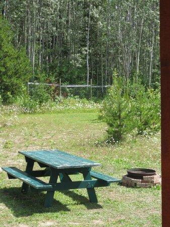 Glacier View RV Park : Badminton Net