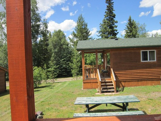 Glacier View RV Park : View from Deck