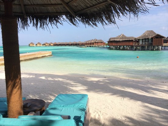Anantara Veli Maldives Resort: water is blue and clear