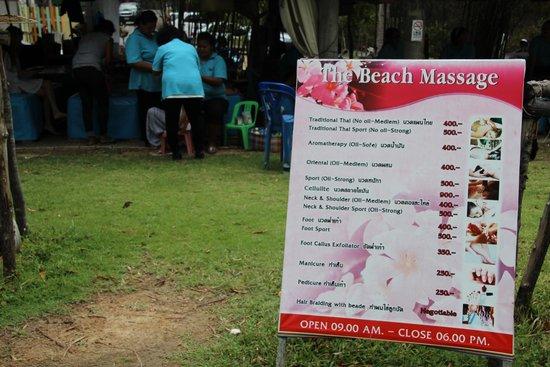 Angsana Laguna Phuket: Beach Front Massage