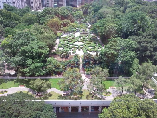 The Mira Hong Kong: View from the room!