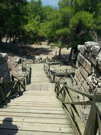 Phaselis Antique City: Steps to the Theatre