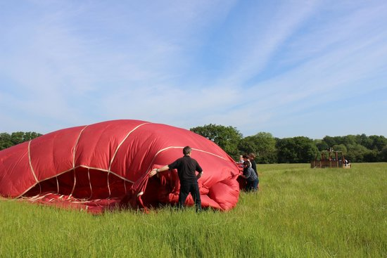 Virgin Balloon Flights: deflating