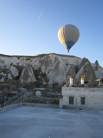 Cappadocia Stone Palace : View from Terrace