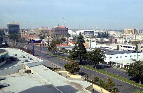 Bakersfield Marriott at the Convention Center: Downtown Bakersfield from The Marriott concierge level