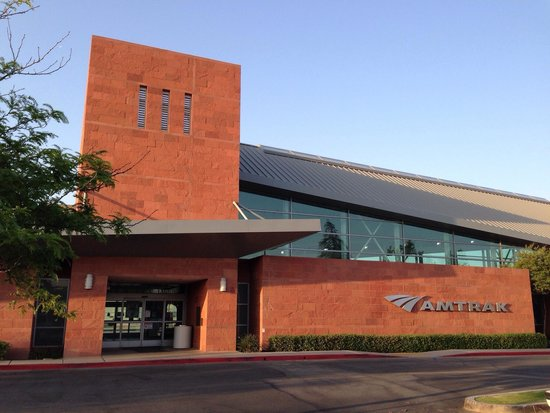 Bakersfield Marriott at the Convention Center: Bakersfield Amtrak Station - Located Next To Bakersfield Marriott