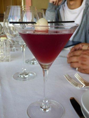 LA Prime at The Westin Bonaventure Hotel : lychee martini